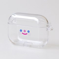CLEAR RiCO SMILE AIRPODS PRO CASE