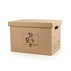 DIY 크라프트 종이박스 39x28cm/ 종이정리함