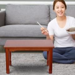 4인용 우드 좌식테이블/거실 좌탁 테이블 밥상 교자상