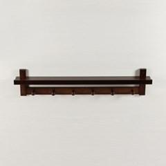트로이 벽걸이 선반(다크브라운)/벽선반 선반받침대