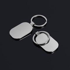 실버 로고 키홀더/메탈링 열쇠고리 자동차키링