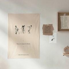 musician fabric poster