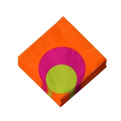 다프 독일 사각 디너 테이블 냅킨 오렌지(16장)