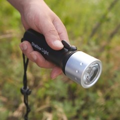 5W LED 방수손전등/등산 낚시 캠핑용 LED후레쉬 랜턴