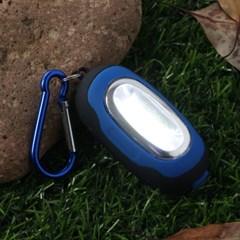 파워킹 COB LED 카라비너 미니랜턴/ 휴대용 손전등