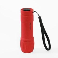 파워킹 LED 손전등(레드) / 휴대용 후레쉬
