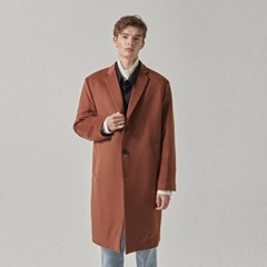 CASHMERE SINGLE COAT_CAMEL