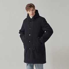 HOODY COAT_NAVY