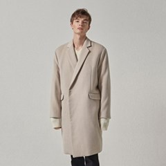 WOOL SNAP COAT_IVORY
