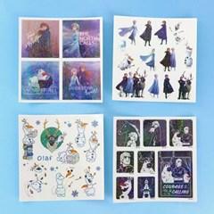 디즈니 겨울왕국 2_홀로그램 스티커 세트 ver.1