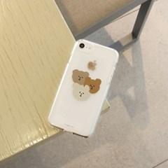 [젤리케이스] 갱스터베어 201 폰케이스 삼성갤럭시