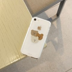[젤리케이스] 갱스터베어 201 폰케이스 아이폰/LG