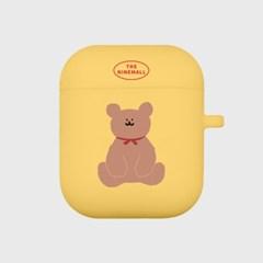 adult bear 에어팟 케이스[yellow]