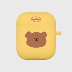 slow bear 에어팟 케이스[yellow]