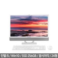 삼성일체형PC DM530ABE-L58A 윈도우10 탑재된 i5 24인치