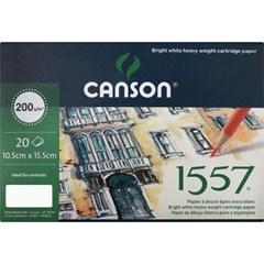 CANSON 엽서팩 1557(20매 200g 크로키 뎃생용 CACP-1557_(14360061)