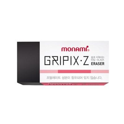 지우개 GRIPIX-Z(중형 검정색 모나미)_(14360017)