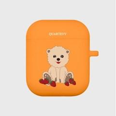 [에어팟젤리]Strawberry Dog2-Orange