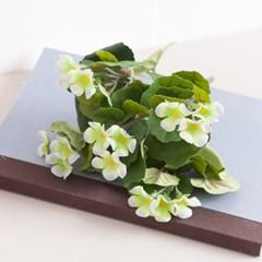 화이트바이올렛부쉬o 16cm FAIAFT 조화 꽃 인테리어_(1699452)