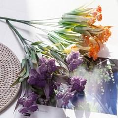 헬리오트로프부쉬o 31cm FAIAFT 조화 꽃 인테리어소품_(1699450)