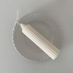 Stripe Candle