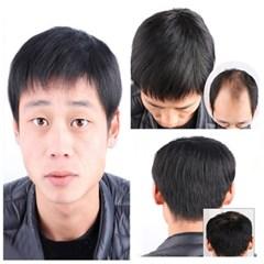 블링앤수 내츄럴 블랙 남자가발 HCS009
