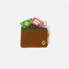 SWSW BOA COIN WALLET Brown-green