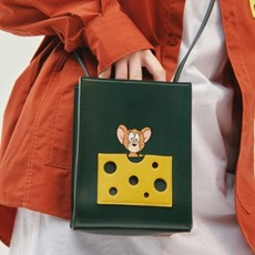[SS20 Stereo & Jerry] Cheese Pocket Mini Bag(Green)_(743978)