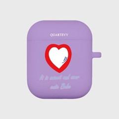 [에어팟젤리]Red Heart-Purple