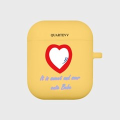 [에어팟젤리]Red Heart-Yellow