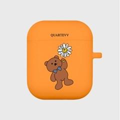 [에어팟젤리]Flower Bear-orange