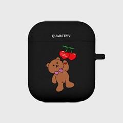[에어팟젤리]Cherry Bear-Navy
