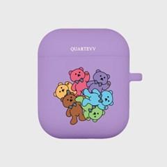 [에어팟젤리]Color Bear-Purple