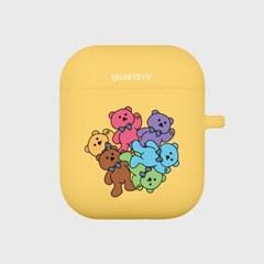 [에어팟젤리]Color Bear-Yellow