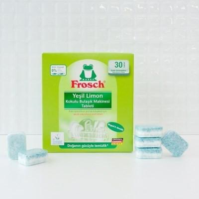 프로쉬 - 올인원 식기세척기 전용세제 그린레몬 (30개입)