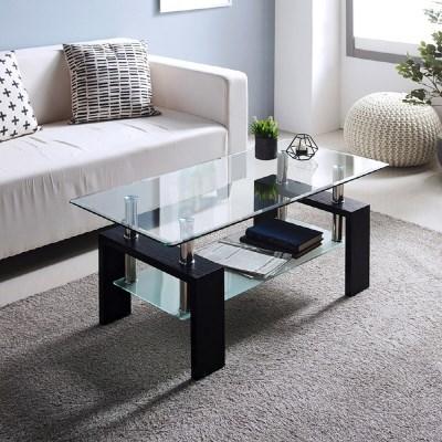 앳홈 프리미엄 강화유리 테이블