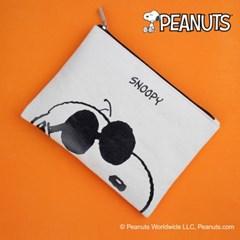 [Peanuts]스누피 조쿨 컬러 빅파우치(Snoopy joecool co_(1791484)