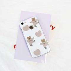 [젤리케이스] 하트파자마 209 폰케이스 아이폰/LG
