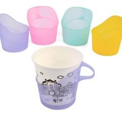 집게형 컵홀더 1개(색상랜덤)