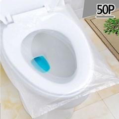 일회용 변기비닐시트 50p 1세트