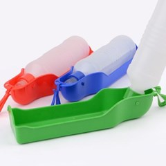 애완용 휴대 물통 1개(색상랜덤)
