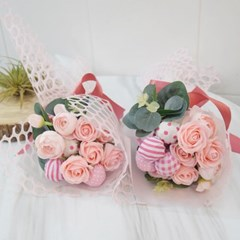 미니 사탕 장미꽃다발