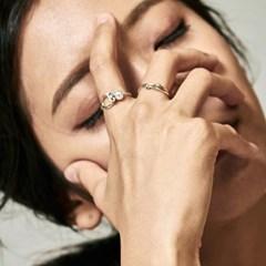 [매디]박쥐매듭 Pearl Ring
