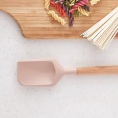 우디핑크 실리콘 요리주걱