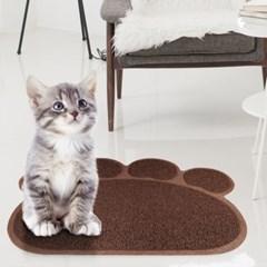 코코 발바닥 고양이매트/고양이용품 발판 모래매트