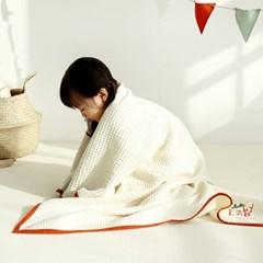 베이비랩 모달와플 아기이불 사계절 블랭킷