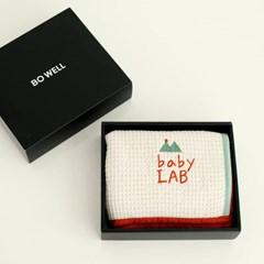 베이비랩 모달와플 아기이불 사계절 블랭킷 기프트세트