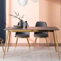 잉글랜더 피닉스 그레이 통세라믹 4인용 식탁(의자 미포함)