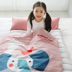 보니멀랜드 클린모달 토퍼형 어린이집 낮잠이불 세트