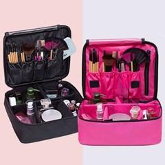 여행용 대용량 메이크업 화장품 수납 파우치 정리함